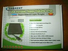 Sabrent USB Portable Floppy Diskette Drive, New In The Original Open Box,  #1605