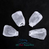 Replacement Filter Bags for Aquarium Battery-Powered Gravel Cleaner 4 PCS