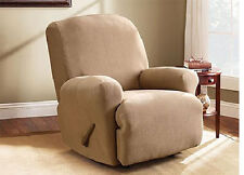 Sure Fit Recliner Slipcover Stretch Pearson - Tan / Beige Color