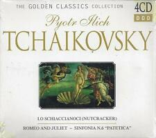 4 CD Box ♫ Compact disc **TCHAIKOVSKY ♦ COLLECTION** Nuovo Originale Sigillato