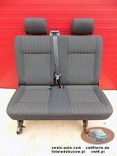Bench rear double seat VW T6 T5 Transporter PANDU LHD