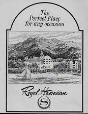 Antiquitäten & Kunst At Anzeige Moderater Preis Fein Hilton Hawaiian Village Waikiki Strand Honolulu 1963 Spaß Paket