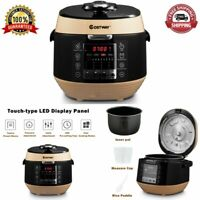 NEW Electric Pressure Cooker Programmable 12-In-1 Multi-Use Non-Stick Pot Coffee