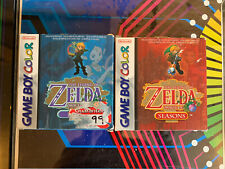 The Legend of Zelda Oracle of Seasons + Oracle of Ages (Game Boy)