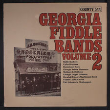 VARIOUS: Georgia Fiddle Bands, Vol. 2 LP Sealed Country