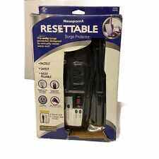 Newpoint Resettable Surge Protector 8 Outlet Telephone Line Coaxial Line  NEW