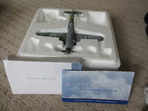"""Franklin Mint Armour Collection 1:48 ME/BF-109 """"Gunther Rall Black"""" PN B11E215 *"""