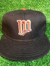 VTG MINNESOTA TWINS NEW ERA PRO MODEL FITTED 7 3/8 CAP HAT MLB NEW
