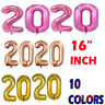 """16"""" MERRY CHRISTMAS HAPPY NEW YEAR 2020 SELF INFLATING FOIL BALLOON BANNER"""