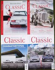 """Mercedes-Benz """"Classic"""" 4 Hefte (02/2011 + 03/2011 + 01/2013 + 02/2014)"""