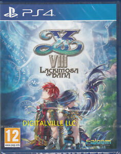 Ys VIII Lacrimosa of Dana PS4 Brand New Factory Sealed