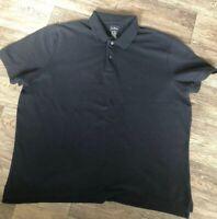 LL Bean XXL NAVY Cotton Poli Shirt