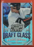 Michael Conforto RC 2014 Prizm Draft Class SILVER HOLO Rookie Card New York Mets