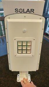 Solar Street Light 10 watt ( 15 watt Solar Panel ) Powerful, Easy to Install