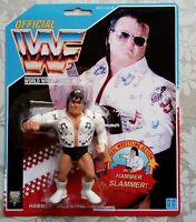 WWF Hasbro custom Greg the hammer valentine rhythm & blues prototype moc wwe