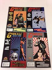 The Grackle in Double Cross #1 2 3 4 Mike Baron Paul Gulacy mini series