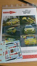 DECALS 1/43 REF 910 SUZUKI IGNIS S1600 KATAJAMAKI RALLYE MONTE CARLO 2005 RALLY