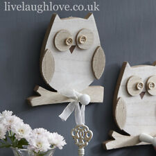 Wooden Owl Single Peg Hook