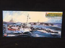 Pit road 1/700 US Navy Destroyer Escort DE-51 Buckley Class