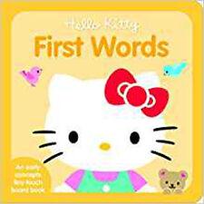 Hello KITTY PRIME parole (Hello Kitty TINY TOUCH), NUOVO LIBRO, Sanrio