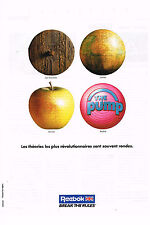 PUBLICITE ADVERTISING 074  1992  REEBOK  vetements de sport baskets