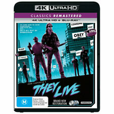 They Live (Blu-ray, 2019, 3-Disc Set)