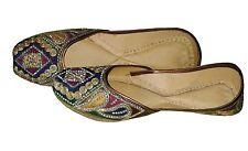 Punjabi jutti Flip Flops casual shoes Khussa shoes Mojari Women shoes jooti US-7