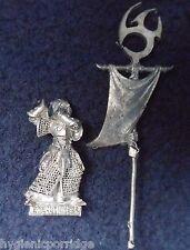2001 Dark Elf GUERRA garneth BOIA Standard Bearer Citadel comando Banner GW