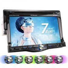 AUTORADIO AVEC DISPLAY TOUCHSCREEN 18 CM BLUETOOTH SD USB LECTEUR DVD/CD AUX-IN