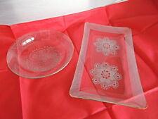 Markenlose Kristall-Schüsseln & -Schalen der 70er Jahre