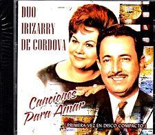 """DUO IRIZARRY DE CORDOVA - """"CANCIONES PARA AMAR"""" - CD"""