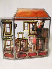 Artist Carol Webb Halloween House ROOM BOX Diorama Dollhouse MINIATURES Lighted