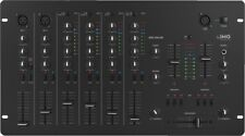 IMG STAGELINE MPX-206/SW DJ-Mixer 6-Kanal-Stereo-Mischpult