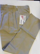 "NOS Vtg '90's Pro Celebrity Golf Casual Pants Size 34"" Waist Khaki/Tan"