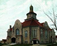 Circa 1910 Congregational Church, Toledo, Ohio German Made Postcard P4