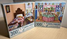 "X2 Puzzles 'Dreams Of Spring, Tea Room' 300 Pieces 18""x24"" Bits And Pieces"