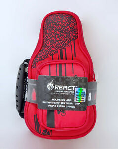 NEW React Nintendo DS Lite RED Guitar Protective Travel Case DSi 3DS hero RT5400