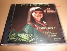 CUSCO cd APURIMAC II return to ancient america