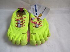 New!  Womens  Vibram  Bikila EVO  Shoes 14W3506 Size US 5 EUR 36 YellowPink 48G