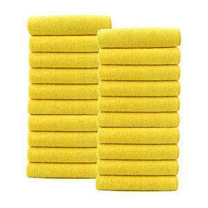 20 x Microfibre Cloths Car Valeting, Cleaning, Waxing, Detailing, PTFE Polishing