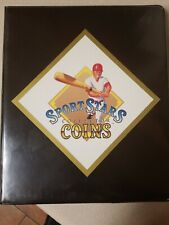 ⚾️ 1990 Bandai SPORTS MLB STARS COLLECTORS COIN SET - Complete in Case ⚾️