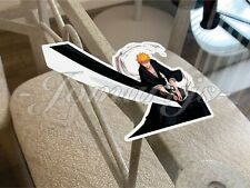 Bleach - Anime - Ichigo Kurosaki Custom Colored Sticker Decal Vinyl 1. manga