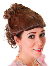 Ladies 1920s Rich Victorian Lady Downton Abbey Wig Prop Fancy Dress Accessory