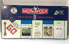 """Boston Red Sox Monopoly """"Collector's Edition"""" w/ Pewter Tokens 2000"""