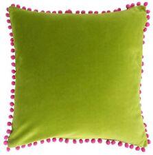 Coussins et galettes de sièges vert clair coton pour la décoration intérieure de la maison