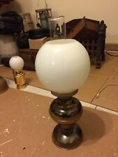 VINTAGE TWIN SHADE OIL LAMP - UNTESTED - VERY GOOD CONDITION