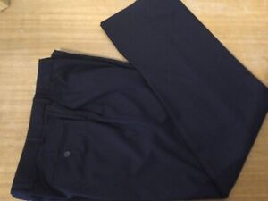 New Mark & Spencer Men's Dress Formal Suit Pants Trousers Size 38 Navy Blue