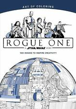 STAR WARS ROGUE ONE ADULT COLORING BOOK ~NEW PAPERBACK COLLECTABLE~
