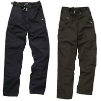 New CRAGHOPPERS Womens Ladies Classic Kiwi Cargo Trousers in Black Navy 8-18