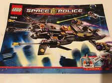 LEGO 5984 - INSTRUCTIONS BOOKLET ONLY  LEGO #5984 Space Police III Lunar Limo
